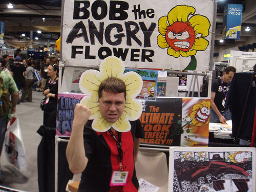 bob the angry flower