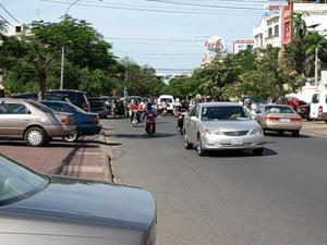 Жаркие улицы Пном Пеня
