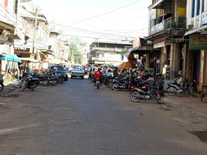 Вид обычной улицы