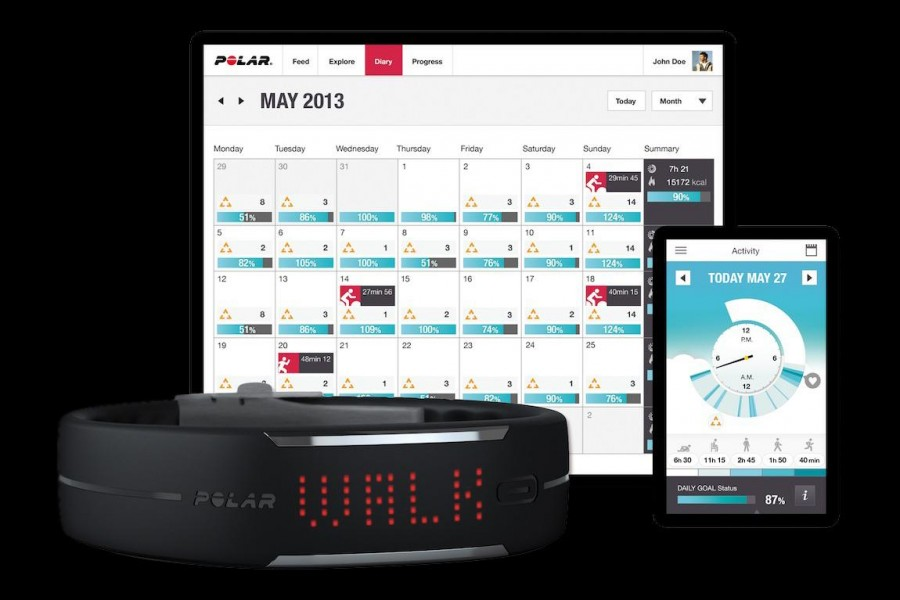 polar-loop-activity-monitor-band-software