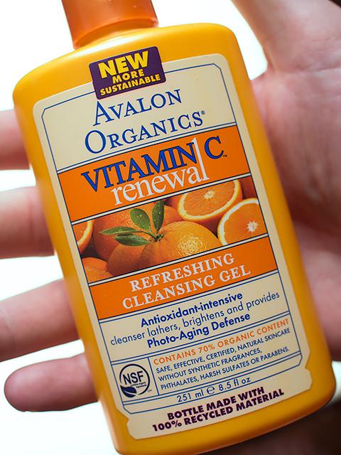 Идеальный гель для мужской кожи: Avalon Organics, Обновление с витамином С