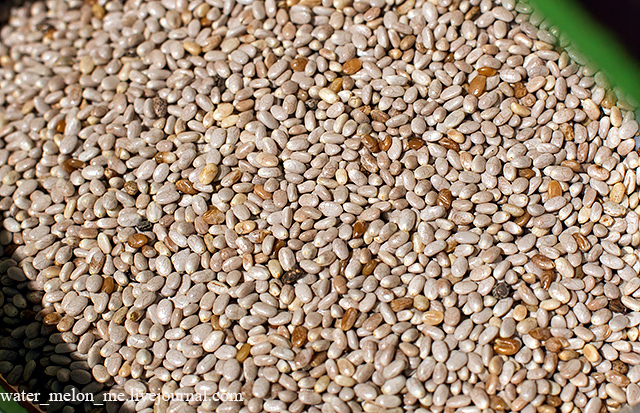 Как перестать хомячить, или Now Foods, Настоящая пища, Семена белой чиа