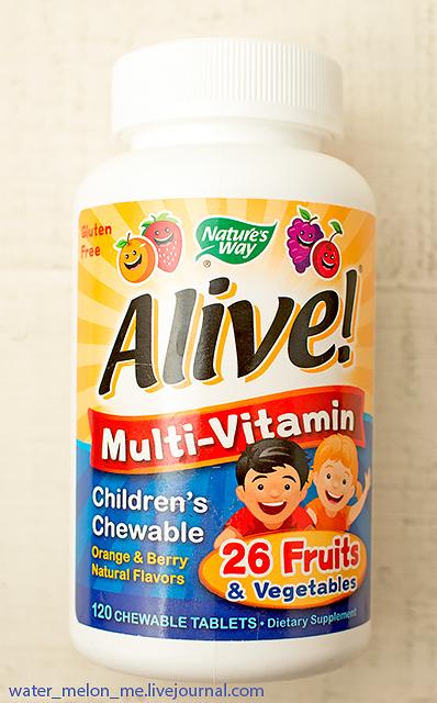 Неплохие жевательные детские мультивитамины