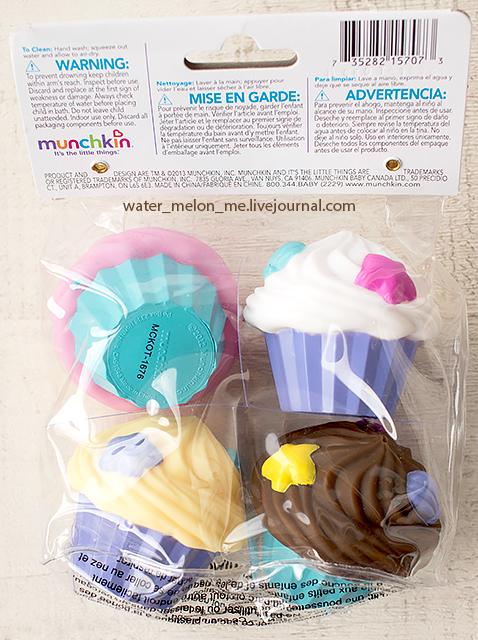 Пирожные для игр в ванной и детских посиделок: секретная ссылка iherb