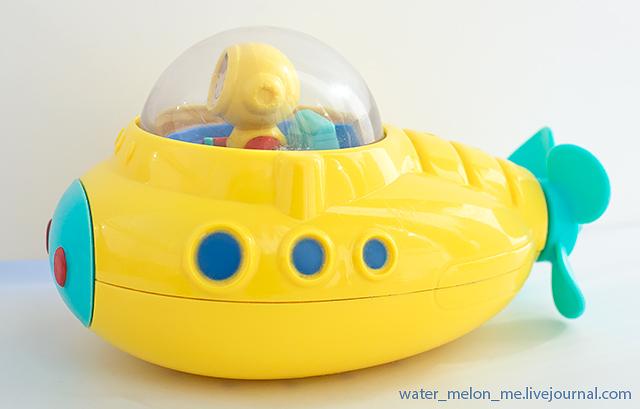 Почему не тонет подводный исследователь – игрушка Munchkin