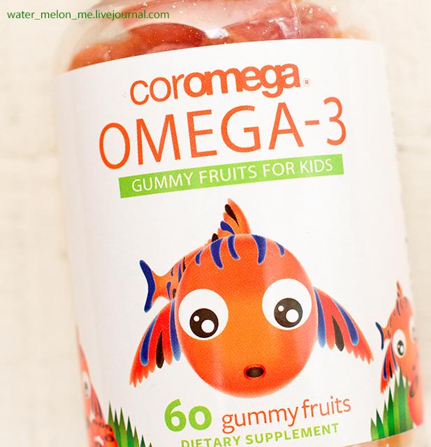 Жевательная омега-3 для детей от Coromega: кому, зачем и сколько