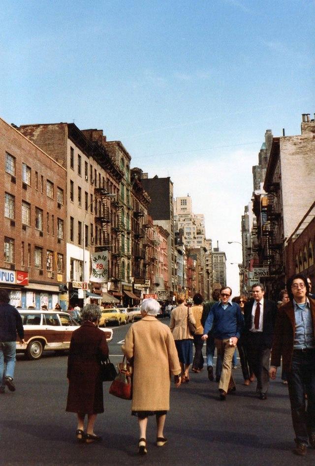 Прекрасный Ньй-Йорк 20 век,Фото,Адская рота,США