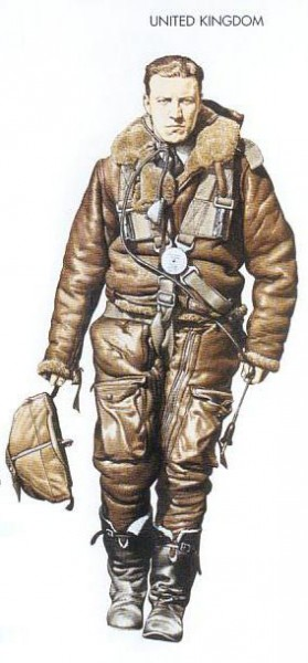 UK - 1939 Sep., England, Airman, Bomber Command