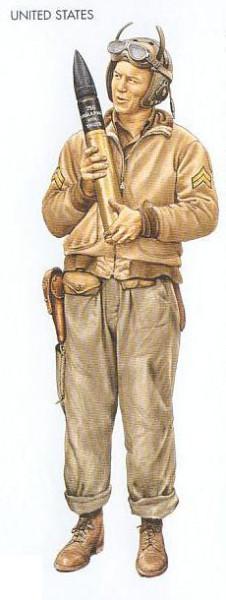 US - 1942 Nov., Morocco, Corporal, Tank Battalion