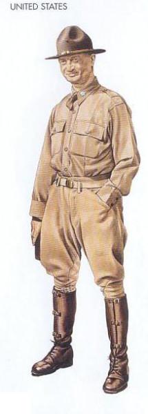 US - 1942 Nov., Morocco, Lieutenant-Colonel, 1st Cavalry Division