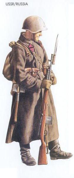 USSR - 1941 July, Ukraine, Corporal, Infantry Division