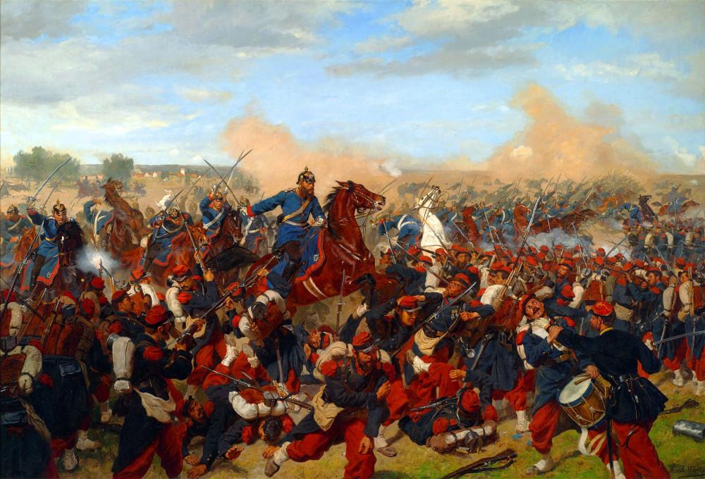 Художники и война Франция и ее история,Рисунки,Германская империя,19 век,Франко-немецкая война