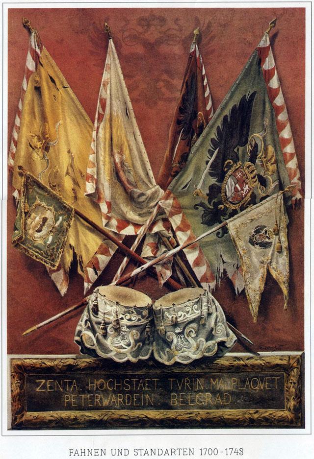 001 - Знамена и штандарты 1700-1743