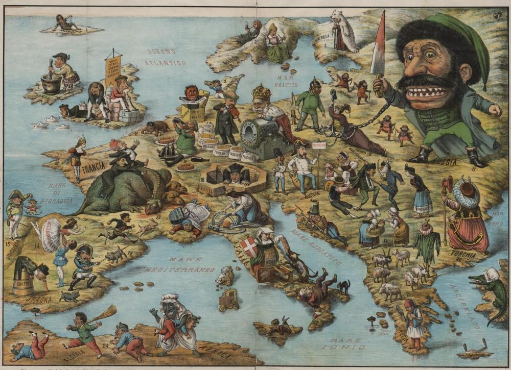 К войне 19 век,Непростая история,Европа,Карты