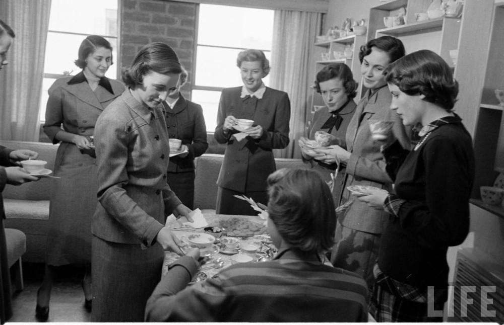 Школа секретарш 20 век,Фото,США,Пятничные бабы