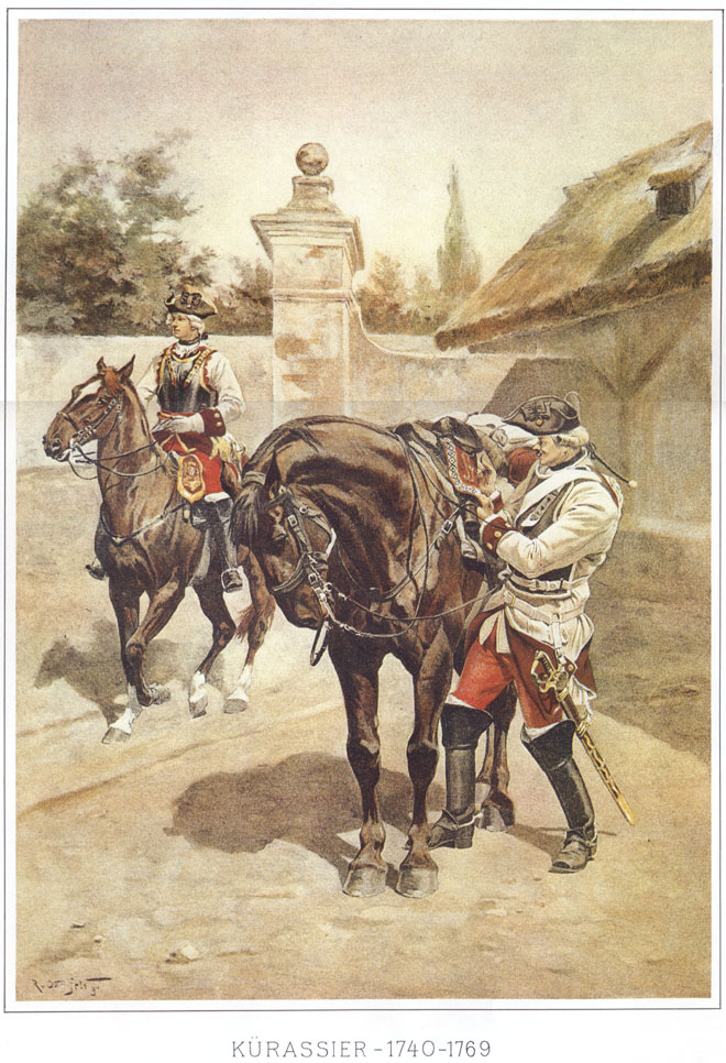 011 - Кирасир 1740-1769