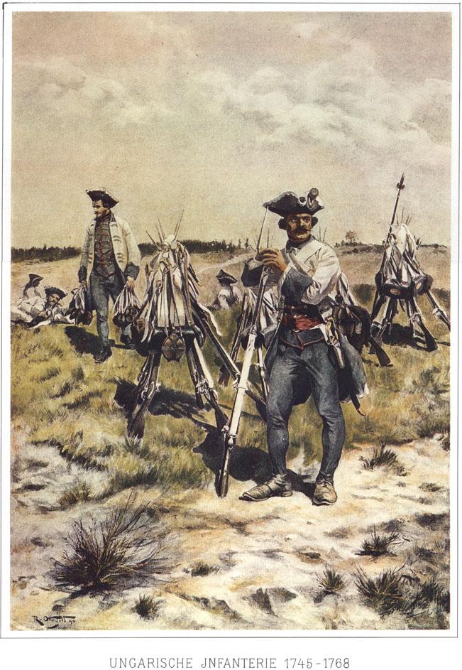014 - Венгерская пехота 1745-1768