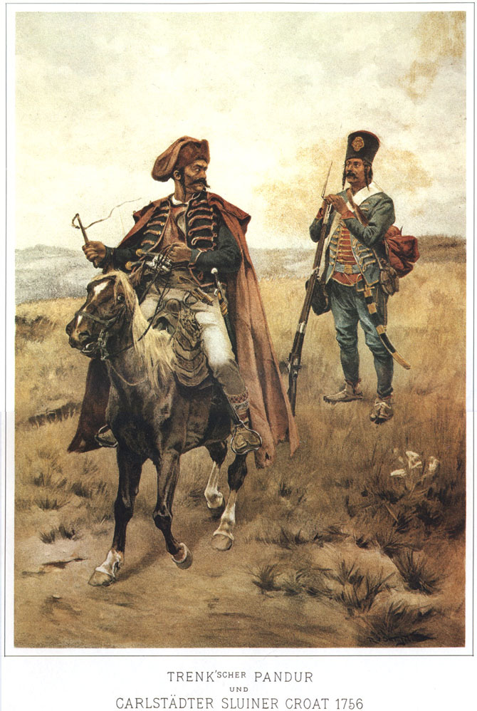 016 - Пандур Тренка и Карлштадтский хорват 1756