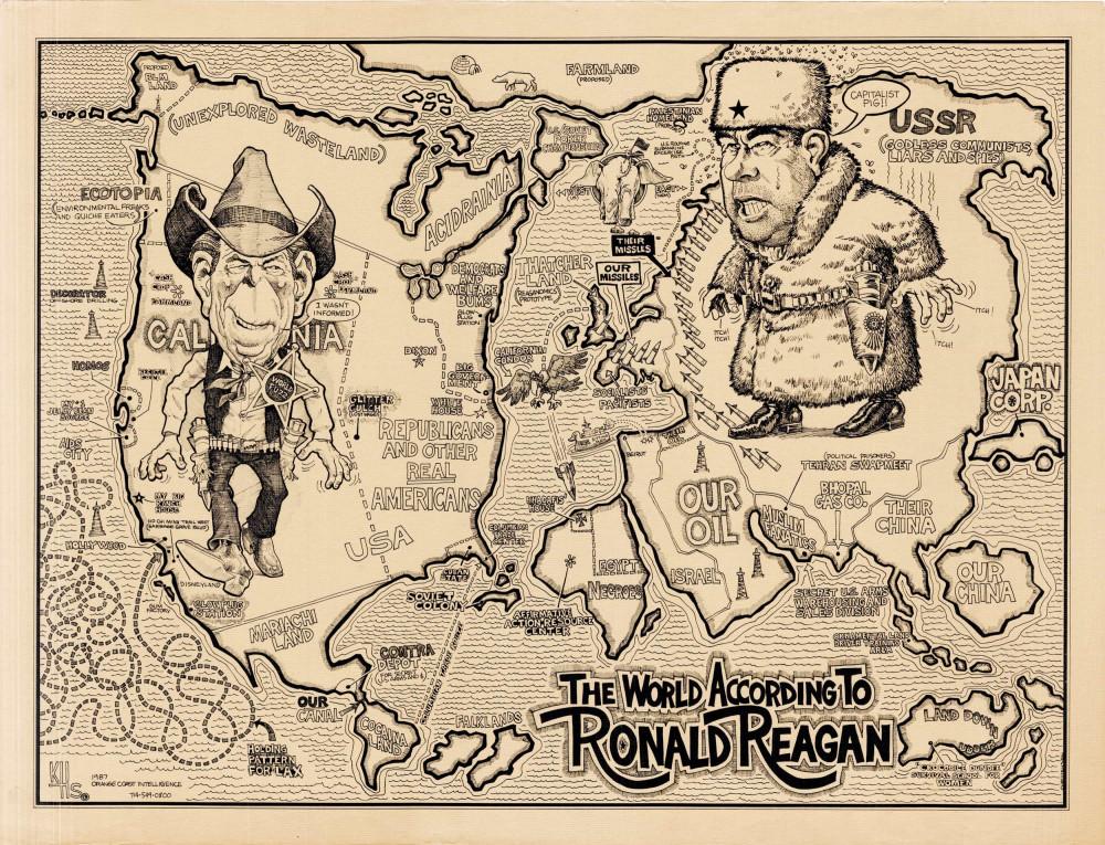 Холодная война 20 век,Холодная война,Карты