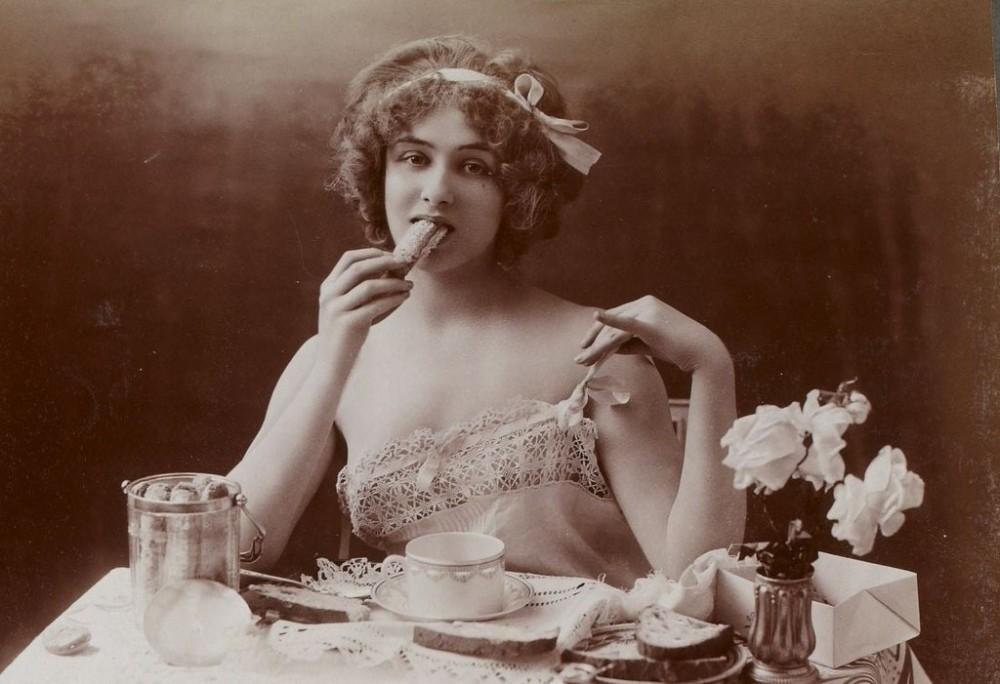 Завтрак девцы
