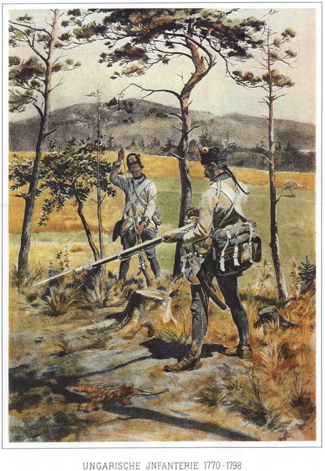 024 - Венгерская пехота 1770-1798