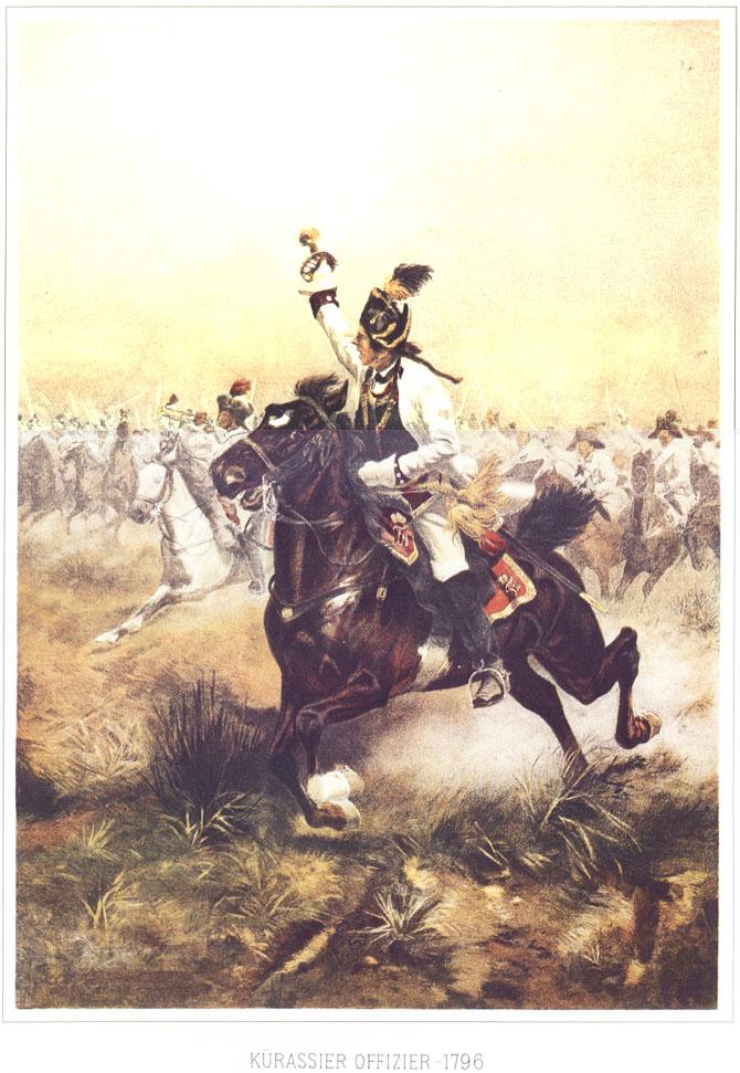 032 - Офицер кирасир 1796
