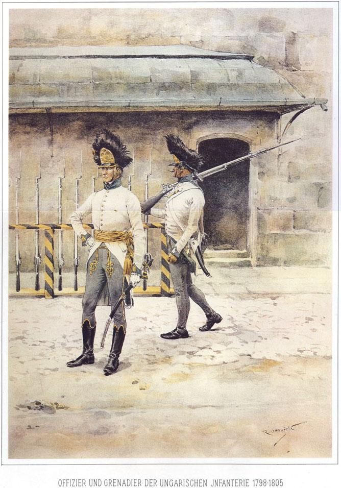 037 - Офицер и гренадер 1798-1805