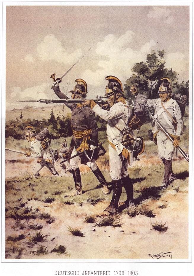 038 - Немецкая пехота 1798-1805