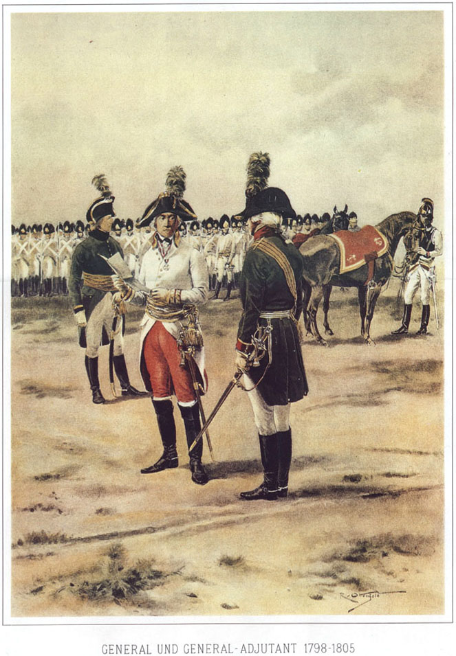 039 - Генерал и генерал-адъютант 1798-1805