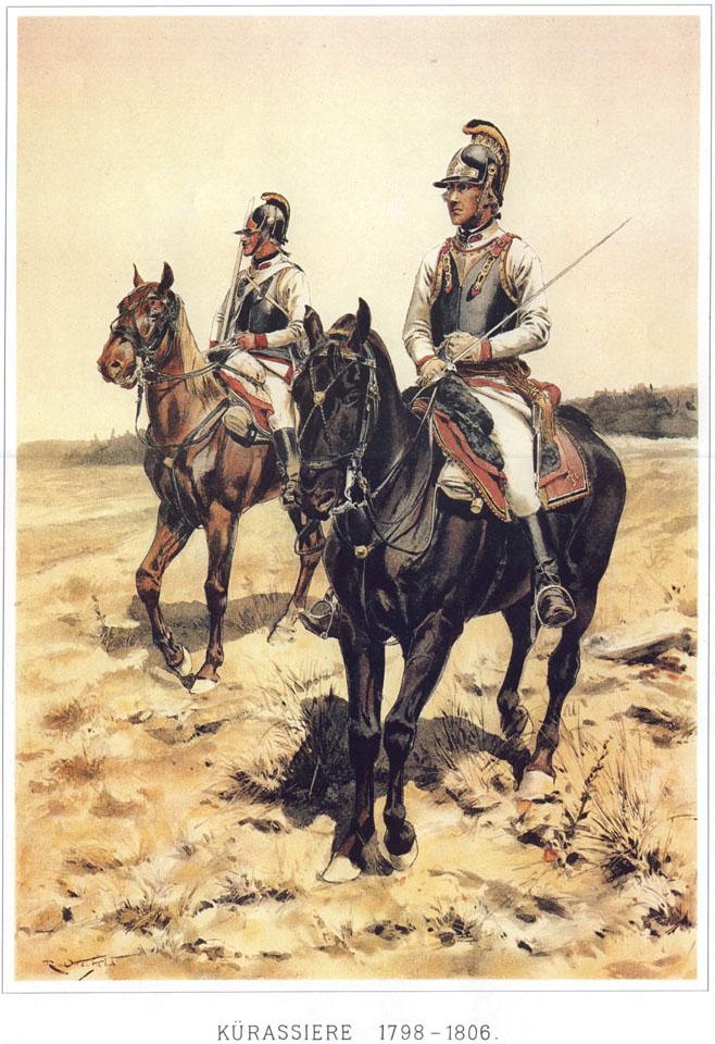 041 - Кирасиры 1798-1806