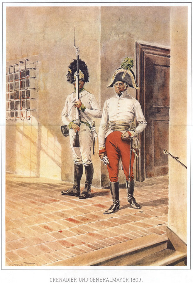 051 - Гренадер и генерал-майор 1809