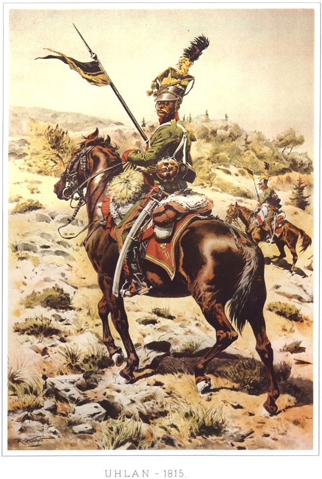 057 - Улан 1815