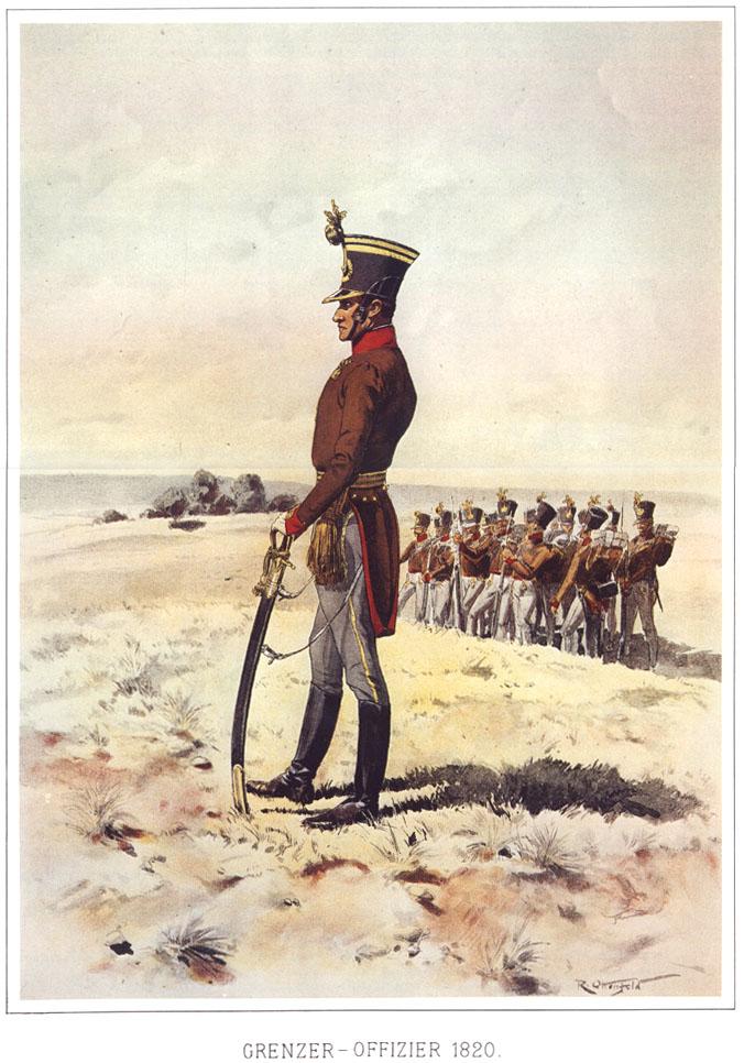 058 - Офицер граничар 1820