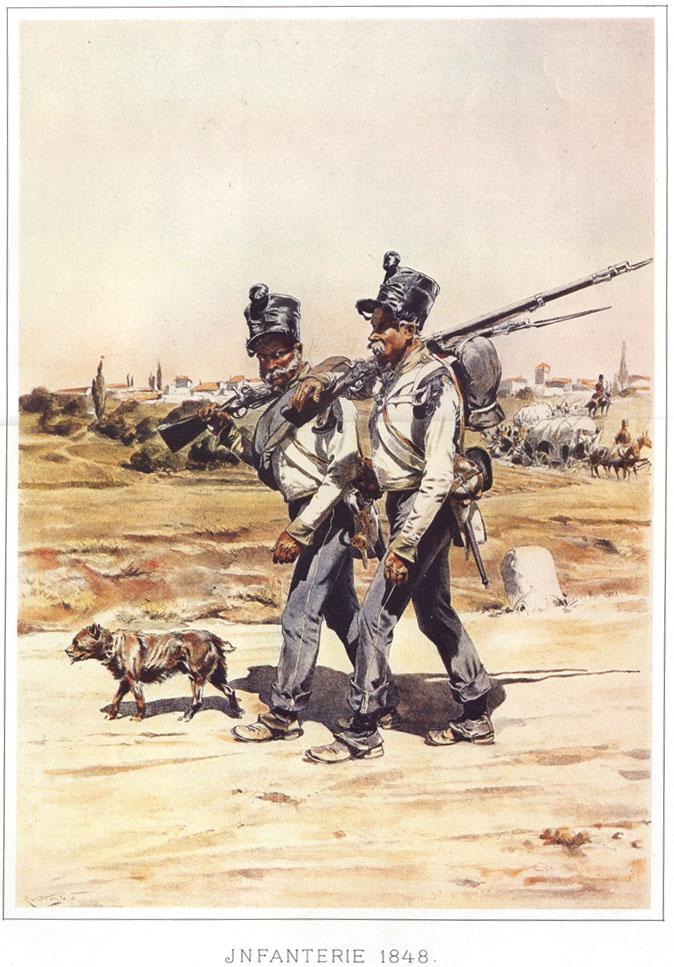 063 - Пехотинцы 1848