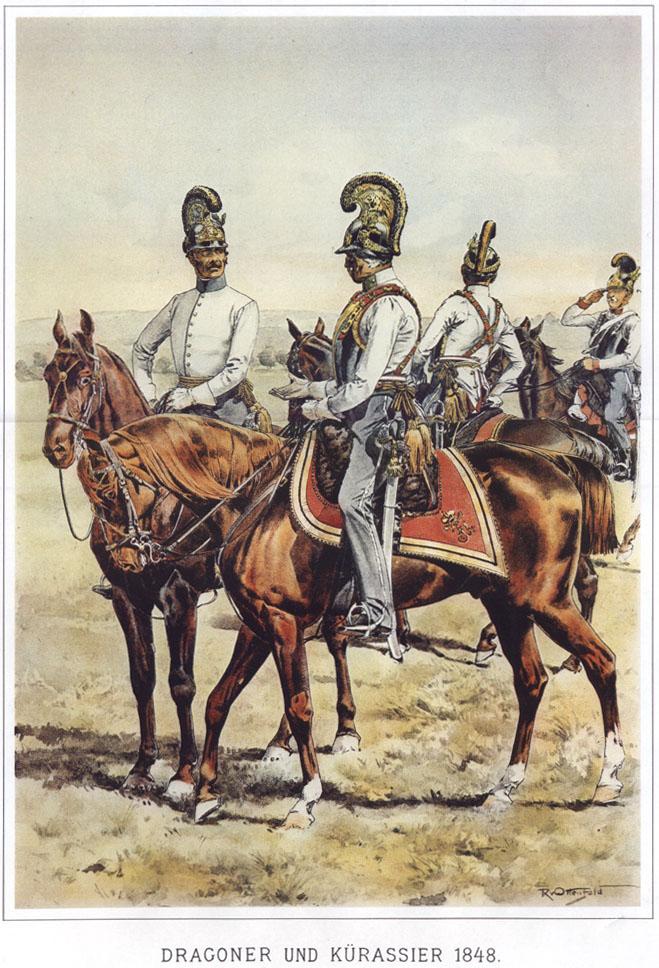 066 - Драгун и кирасир 1848