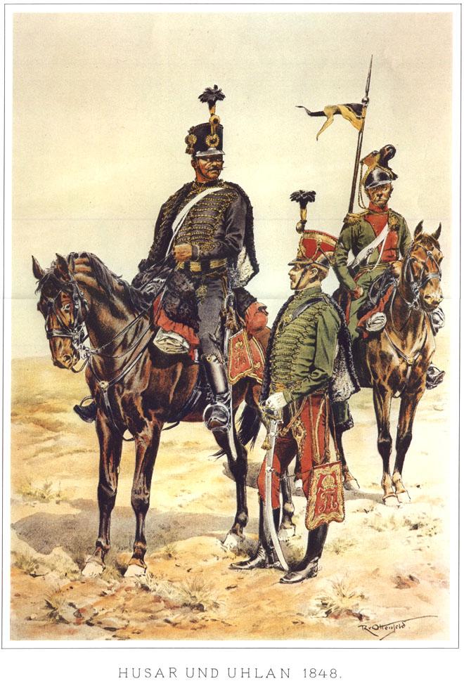 067 - Гусар и улан 1848