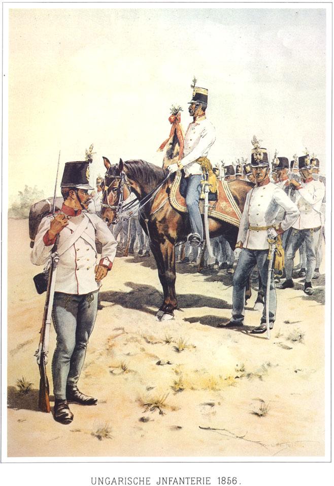 071 - Венгерская пехота 1856