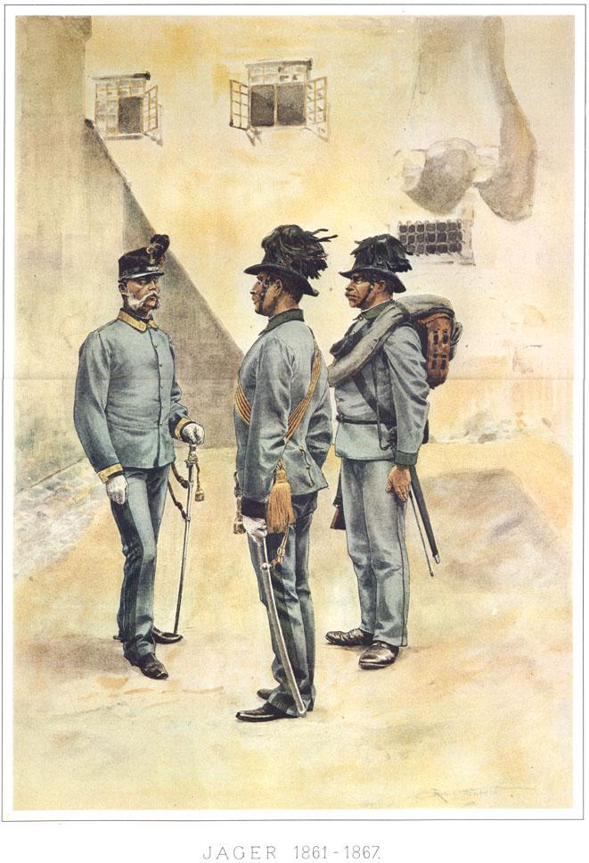 077 - Егеря 1861-1867