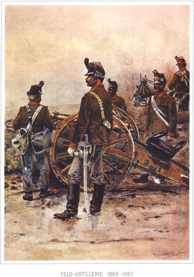 078 - Полевая артиллерия 1863-1867