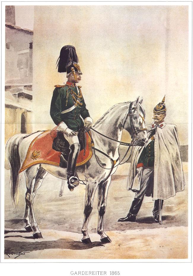079 - Гвардейский кавалерийский эскадрон 1865