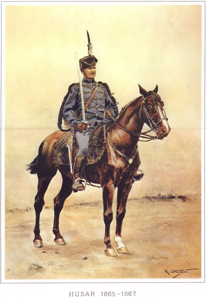 080 - Гусар 1865-1867