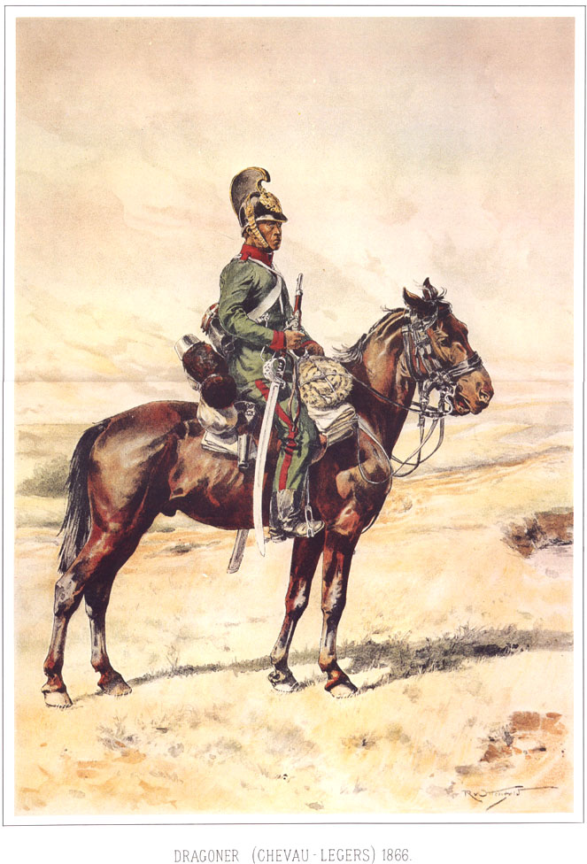081 - Драгун (шволежер) 1866