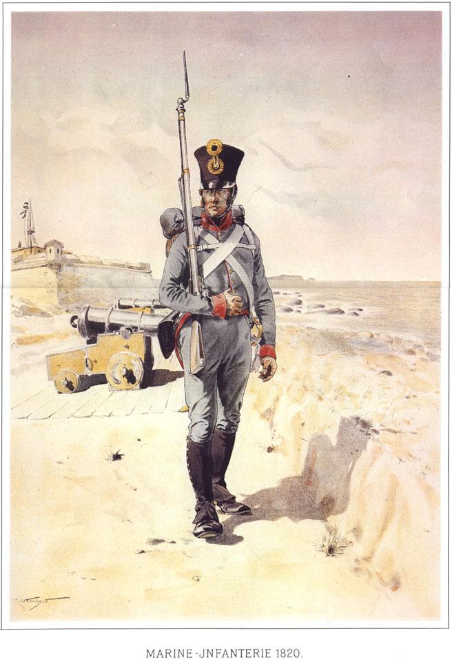 084 - Морской пехотинец 1820