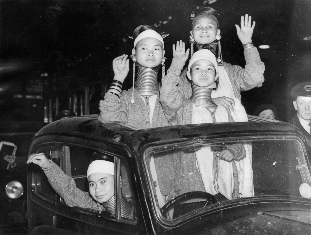 Цирк Азия,Британское Содружество,20 век,Фото,Пятничные бабы