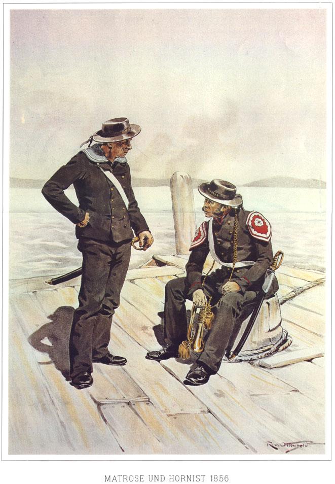 088 - Матрос и горнист 1856