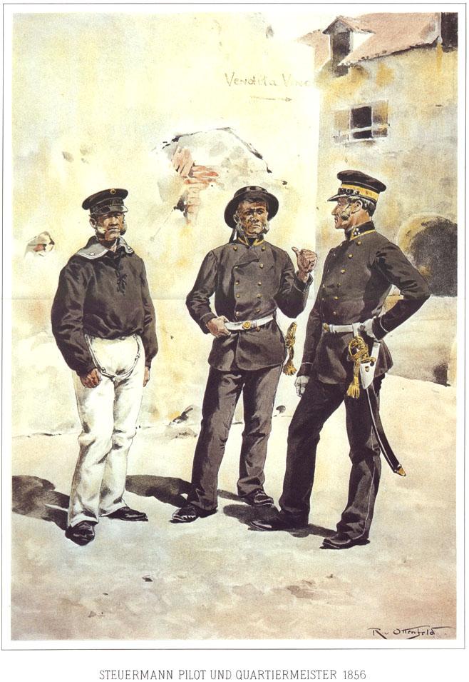 089 - Штурман, лоцман и квартирмейстер 1856