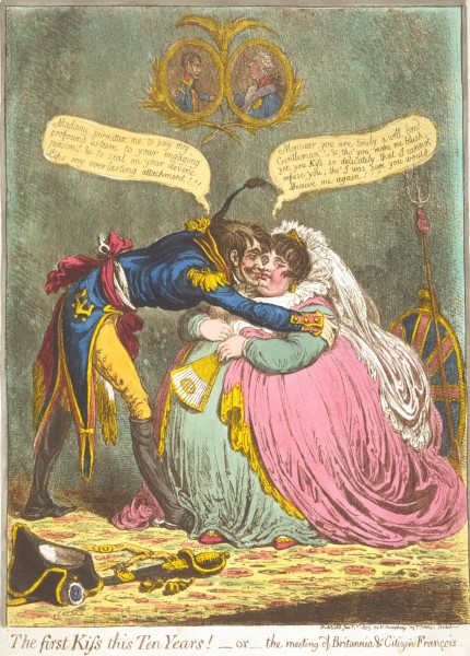 Gillray_-_The_First_Kiss