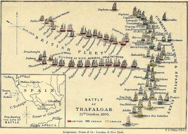 Trafalgar_aufstellung