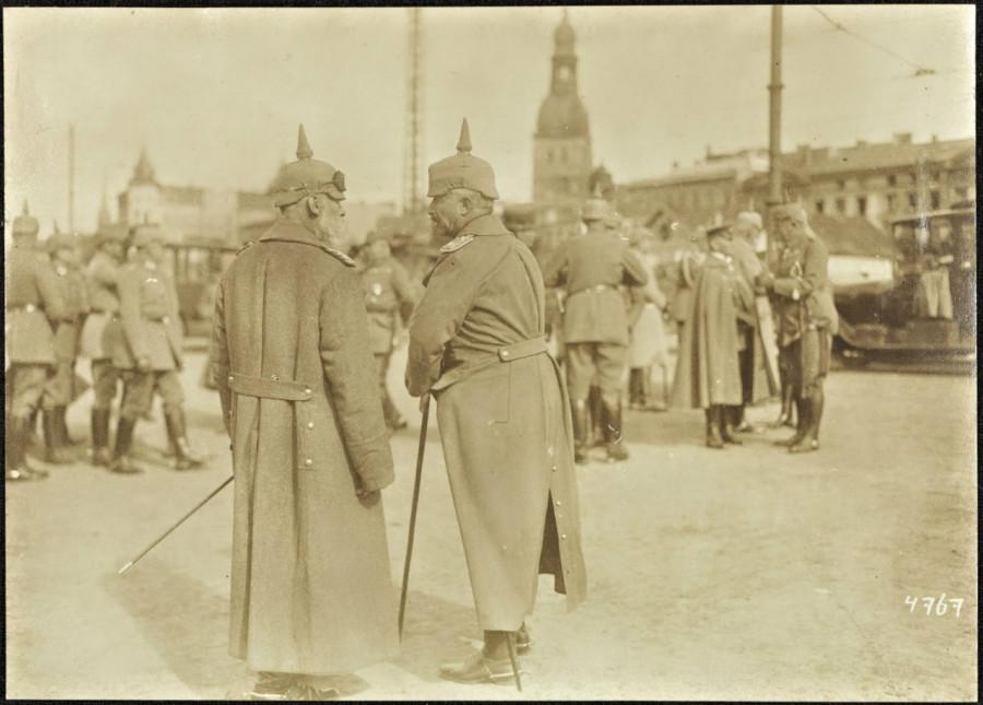 Кайзер Вильгельм II в Риге