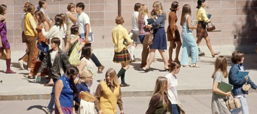 Молодежь советская и не советская 20 век